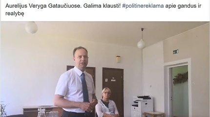 """""""Valstiečiai"""" A.Veryga ir A.Kubilienė vietoj Seimo posėdžio išvyko reklamuoti R.Janutienės?"""