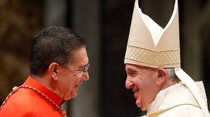 Popiežius paskyrė 13 naujų kardinolų