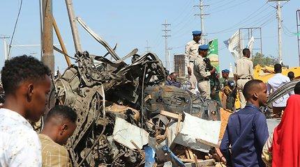 Popiežius ragina melstis už sprogimo Somalyje aukas