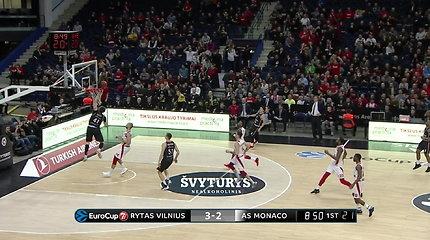 """Vilniaus """"Rytas"""" namie nugalėjo """"Monaco"""" kluba"""