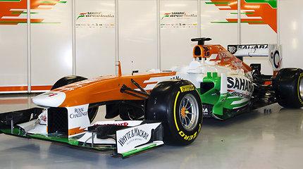 "Atidengtas naujasis ""Force India VJM06"" bolidas"