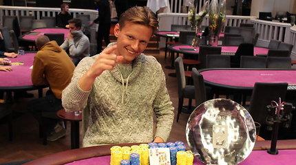 Turnyre Helsinkyje Vladas Tamašauskas susižėrė 100 tūkstančių eurų