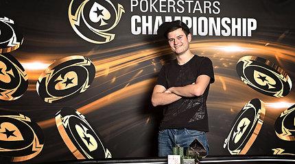 Laurynas Levinskas PCA finiše pelnė 24 tūkstančius eurų