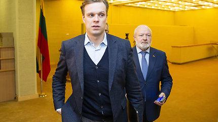 """G.Landsbergis pripažįsta, kad valstiečiams užtenka balsų priimti biudžetą: """"Tai bus Pyro pergalė"""""""