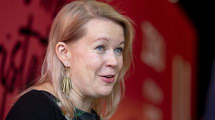 """Suomių rašytoja E.Hirvonen: """"Svarbu galvoti ir apie tai, ko nepriskiriame """"normalumui"""""""