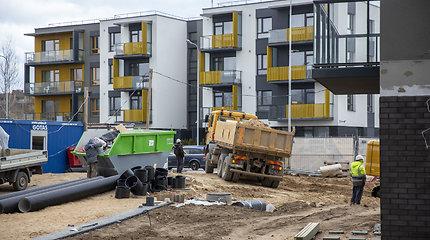 Išskirtinis pusmetis Vilniaus rinkai: per mėnesį parduodama po 500 butų
