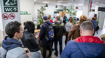 Eilės Vilniaus apskrities migracijos valdyboje