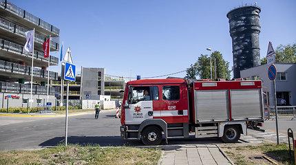 """Planas """"Skydas"""" prie Vilniaus oro uosto"""
