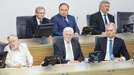 D.Grybauskaitę įvertino G.Nausėda, V.Adamkus ir V.Landsbergis: ne viskas buvo gerai