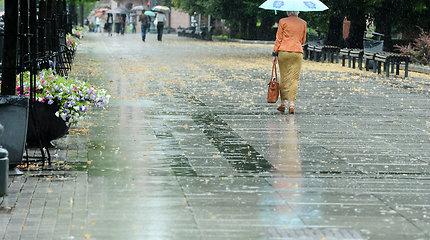 Orai.lt: trumpi lietūs daugiausia lankysis šalies pietvakariuose