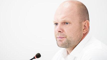 """Spaudos konferencija """"Seimo narys Naglis Puteikis kreipiasi į teismą dėl Aurelijaus Verygos sprendimų"""""""