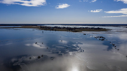 Pavasarinis potvynis Šilutės rajone