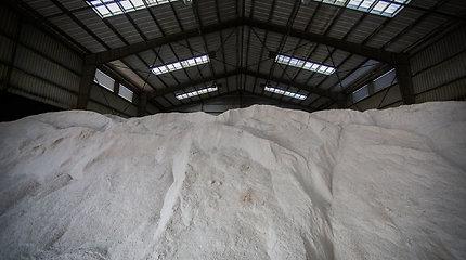 Kelininkai ramina: druskos užteks net ir rūsčiai žiemai