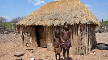Ovahakaona genties gyvenimas Namibijoje