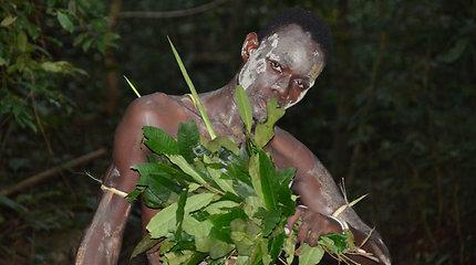 Psichodelinės Bwiti ceremonijos Gabone