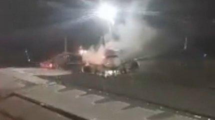 Keleivius išgąsdinusi nuledinimo procedūra Vilniaus oro uoste
