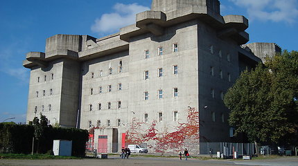 "Hamburge stovintis nacių ""Flaktürme IV"" bunkeris"