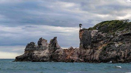 Punta Ventana prieš ir po žemės drebėjimo
