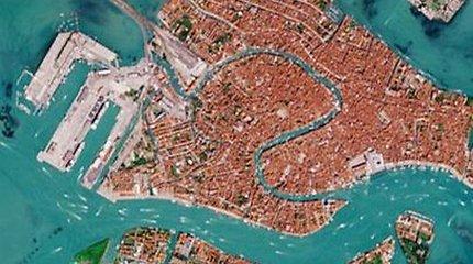 Palydovo nuotraukose – kaip pasikeitė Venecijos kanalai