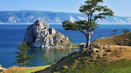Testas: ar žinote, kuriame žemyne yra šie ežerai?