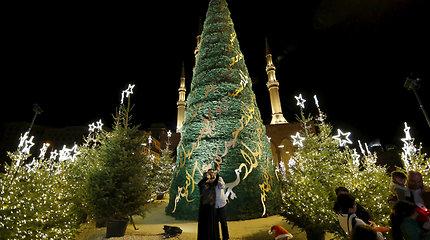 Beiruto Kalėdų eglė buvo tokia baisi, kad buvo išardyta