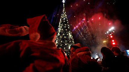 Kalėdų eglė Beirute
