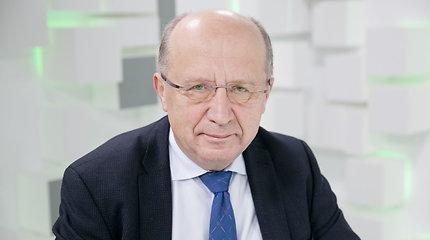 Penktadienį 15min studijoje lankėsi europarlamentaras A.Kubilius