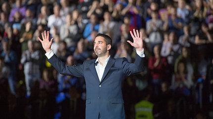"""Ypatingas vakaras Katalonijoje: emocingas J.C.Navarro pagerbimas ir pergalė prieš """"Real"""""""