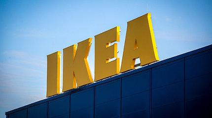 """""""Ikea"""" plečiasi: ketina atidaryti pirmąją parduotuvę Ukrainoje"""