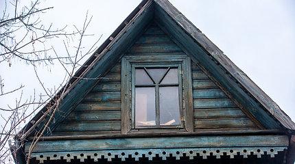 Kultūros paveldo vertybė - namas medinukas Vilniaus Žvėryno rajone
