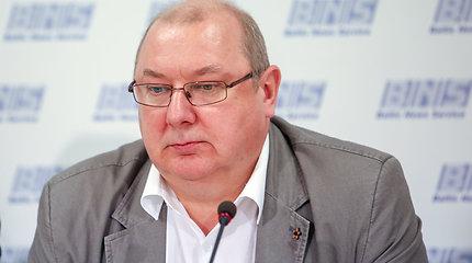 Lietuvos vežėjų sąjungos spaudos konferencija apie apklausą dėl Vyriausybės parengto dviejų minimalių atlyginimų reikalavimo projekto įtakos rodikliams.