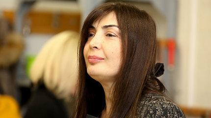 Kadenciją baigia Gruzijos ambasadorė K.Salukvadzė