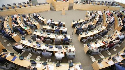 Parlamentarai diskutuos dėl mokesčių ir pensijų pertvarkos