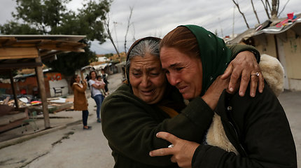 Romų bendruomenė ruošiasi iškraustymui iš nelegalios gyvenvietės Madride