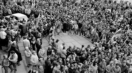 1988 spalio mėnesį vykęs Sąjūdžio steigiamasis suvažiavimas