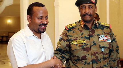 Etiopijos premjeras Abiy Ahmedas