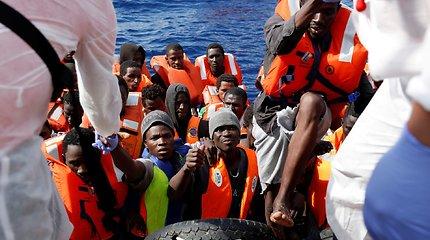 ES siekia glaudesnių ryšių su Šiaurės Afrika kovai su žmonių kontrabanda