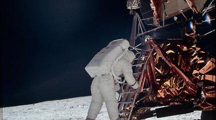 Mirtini Mėnulio spąstai ir neįtikėtina pirmojo nusileidimo istorija