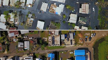 Puerto Rikas po uragano Maria ir praėjus pusei metų