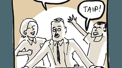 Prano Dovydaičio komiksas