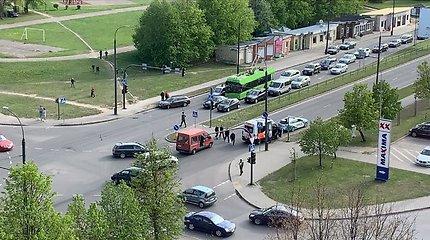 Kauno prokuratūros darbuotoja automobiliu partrenkė mažametį dviratininką