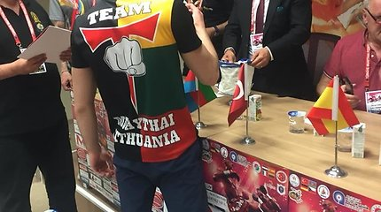 Kovotojas Mindaugas Narauskas Turkijoje iškovojo Europos čempiono diržą