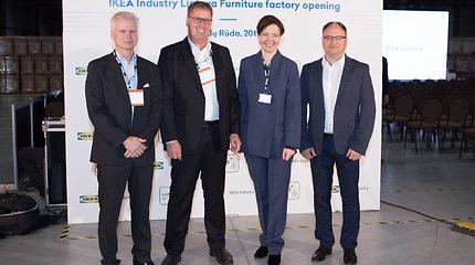 """""""IKEA Industry Lietuva"""" išplėstos gamyklos Kazlų Rūdoje atidarymas"""