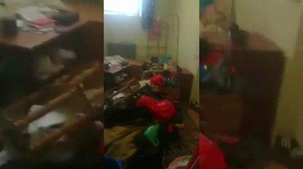Marijampolės pataisos namų kaliniai širsta dėl per kratą nusiaubtų kambarių