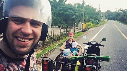 Ievos Kačinskaitės-Urbonienės gyvenimas Tailande