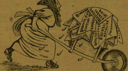 Politinės karikatūros 1926 m. Lietuvos spaudoje
