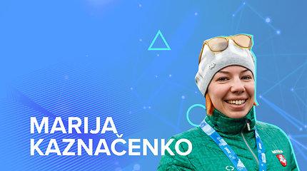 Susipažinkite su olimpiečiais. Olimpinė debiutantė Marija Kaznačenko