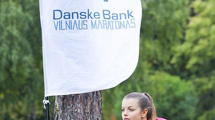 """Gabrielė Martirosianaitė prieš """"Danske Bank Vilniaus maratoną"""" specialių dietų nesilaiko"""