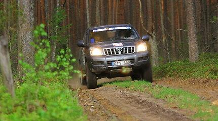 """Lietuvos """"Rally Raid"""" čempionato antrasis etapas: antroji diena"""
