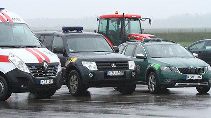 Šiaulių darbo rinkos mokymo centro autodrome – specialiųjų tarnybų varžybos